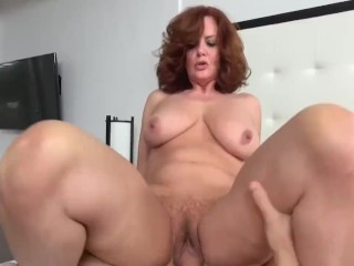 Big tit milf with dildo